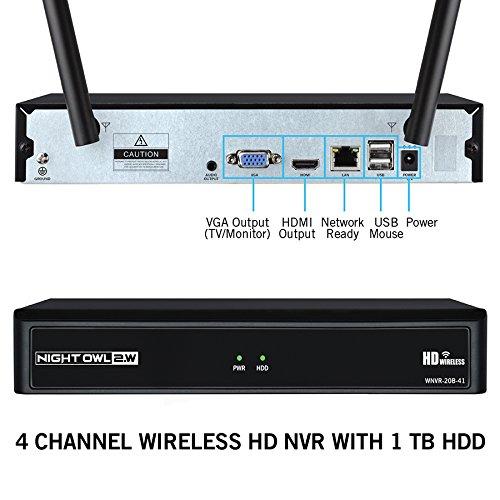 Night Owl Camera System 4 Channel 1080p Wireless Smart