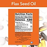 NOW Supplements, Certified Organic Flax Seed Oil