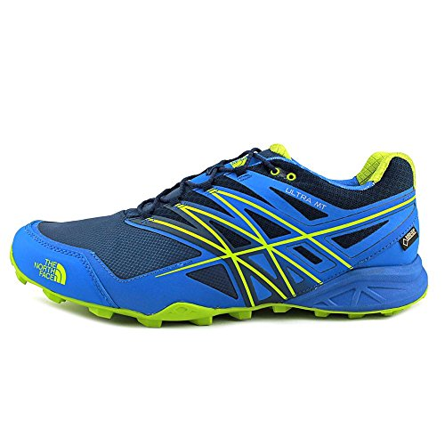 North Face M Ultra Mt Gtx - Zapatillas de running Hombre Blu (Bluqrtz/Macawgn)