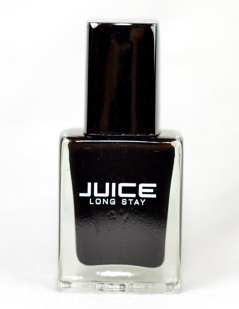 Buy JUICE Long Stay HD Matt Nail Color-Black Magic Online at Low ...