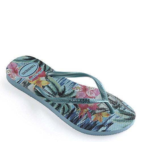 Tropical Blue Sandal Slim Havaianas Splash 1tqnX50w