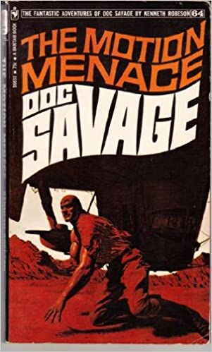 Book The Motion Menace (The Fantastic Adventures of Doc Savage, #64)