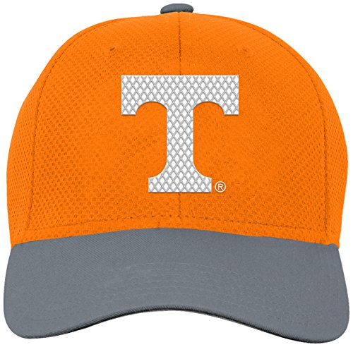 (NCAA by Outerstuff NCAA Tennessee Volunteers Youth Boys Tech Structured Snap Hat, Light Orange, Youth One Size)