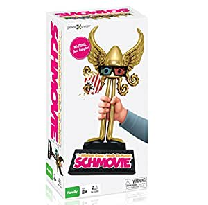 NEW Schmovie: The Hilarious Game of Made-Up Movies (Family / Party Board Game for Kids, Teens, Adults - Boys & Girls Ages 8 & Up)
