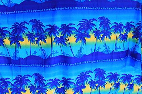 Likre 2764 Costumi Da Halloween Spiaggia Pollici Blu Uomini 78x39 Sarong Pirata Bagno Acceso Cranio Leela Avvolgere La agxw55