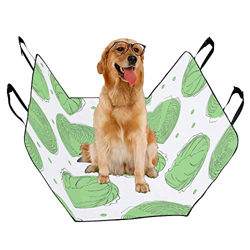- JTMOVING Fashion Oxford Pet Car Seat Cabbage Vegetable Winter Food Creative Waterproof Nonslip Canine Pet Dog Bed Hammock Convertible for Cars Trucks SUV