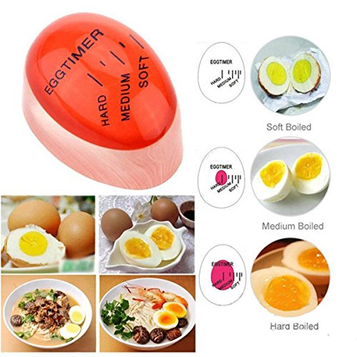 Bazaar Magic Color Changing Egg Timer Cook Thermometer Kitchen Gadgets ()