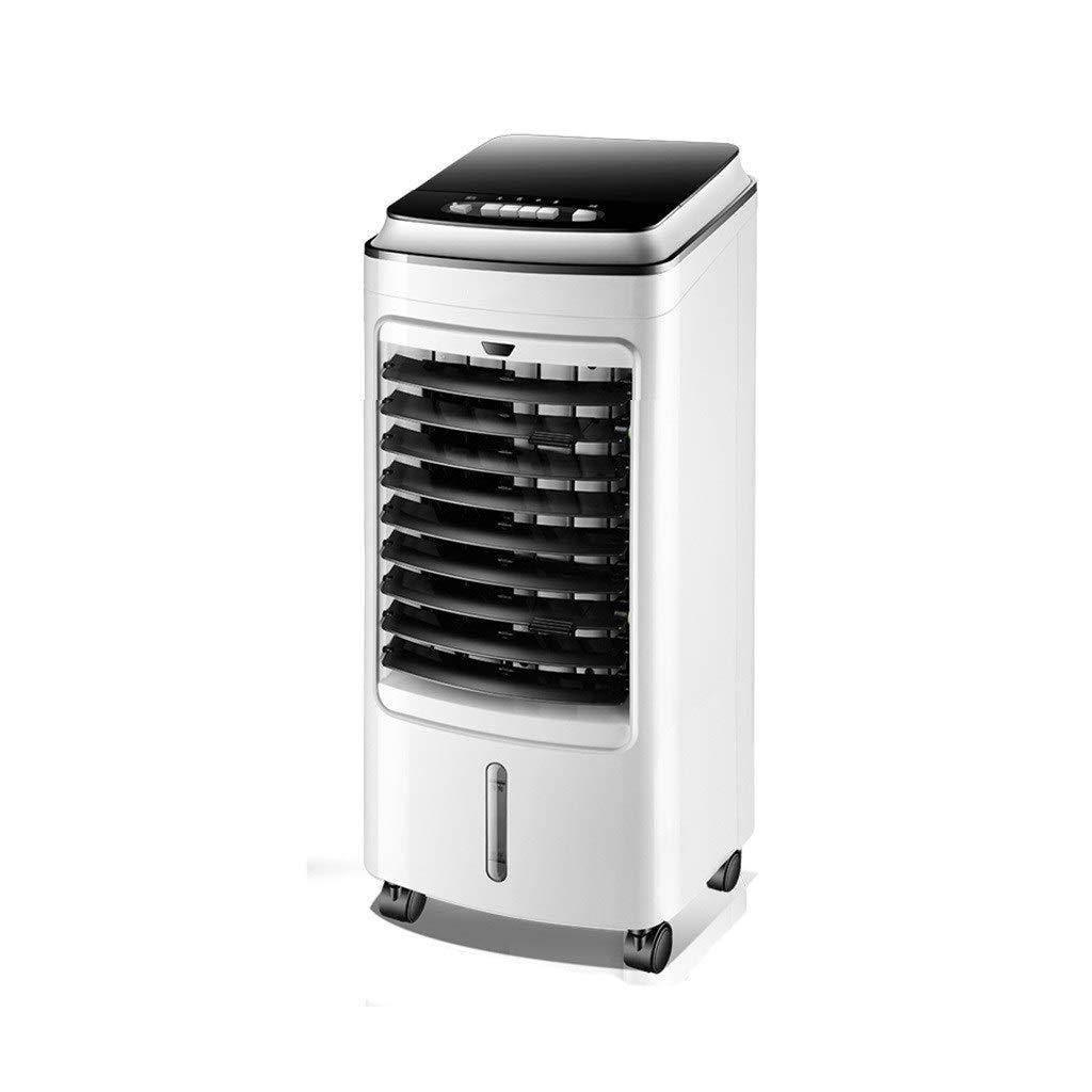 スリム扇風機 携帯用エアコン、1つの移動式冷却ファンの倍タンク設計強い風邪、白、2つの様式に付き家族の寮3つ (Color : B) B07TLLJ9QM B