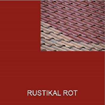 Amazing 1L Ziegelfarbe Dachfarbe Dachbeschichtung Dachversiegelung In Rustikal Rot  Dachrenovierung Metalldach Blechdach Flachdach Farbe Beschichtung Anstrich  Ziegel