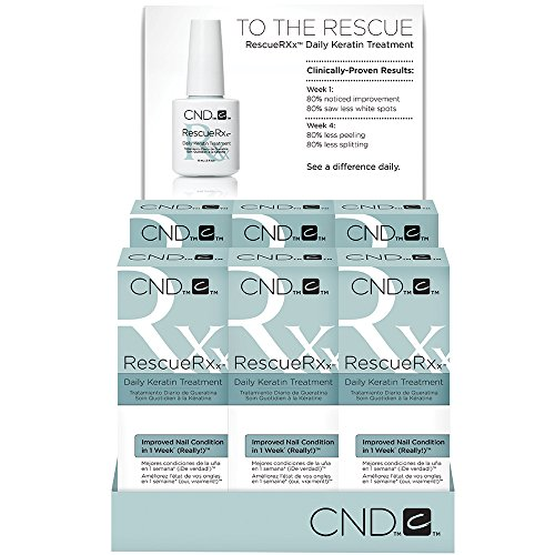 CND RescueRxx Daily Keratin Treatment, Pack of (Creative Nail Design Mask)