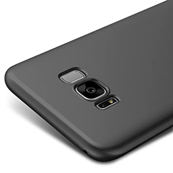 half off f4a69 7ee7b Black Ultra Slim Case Cover For Samsung Galaxy S8+ / S8 Plus 6.2-inch  Vooway® MS70331