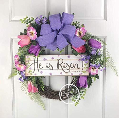 Amazon Com Religious Easter Wreath Handmade