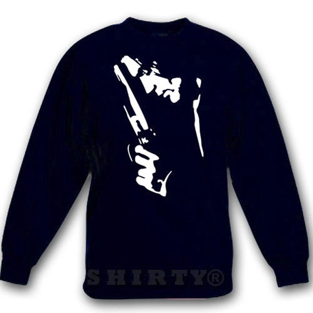 Antonio Banderas - Sweat - Shirt - schwarz - S bis 5XL - 1045