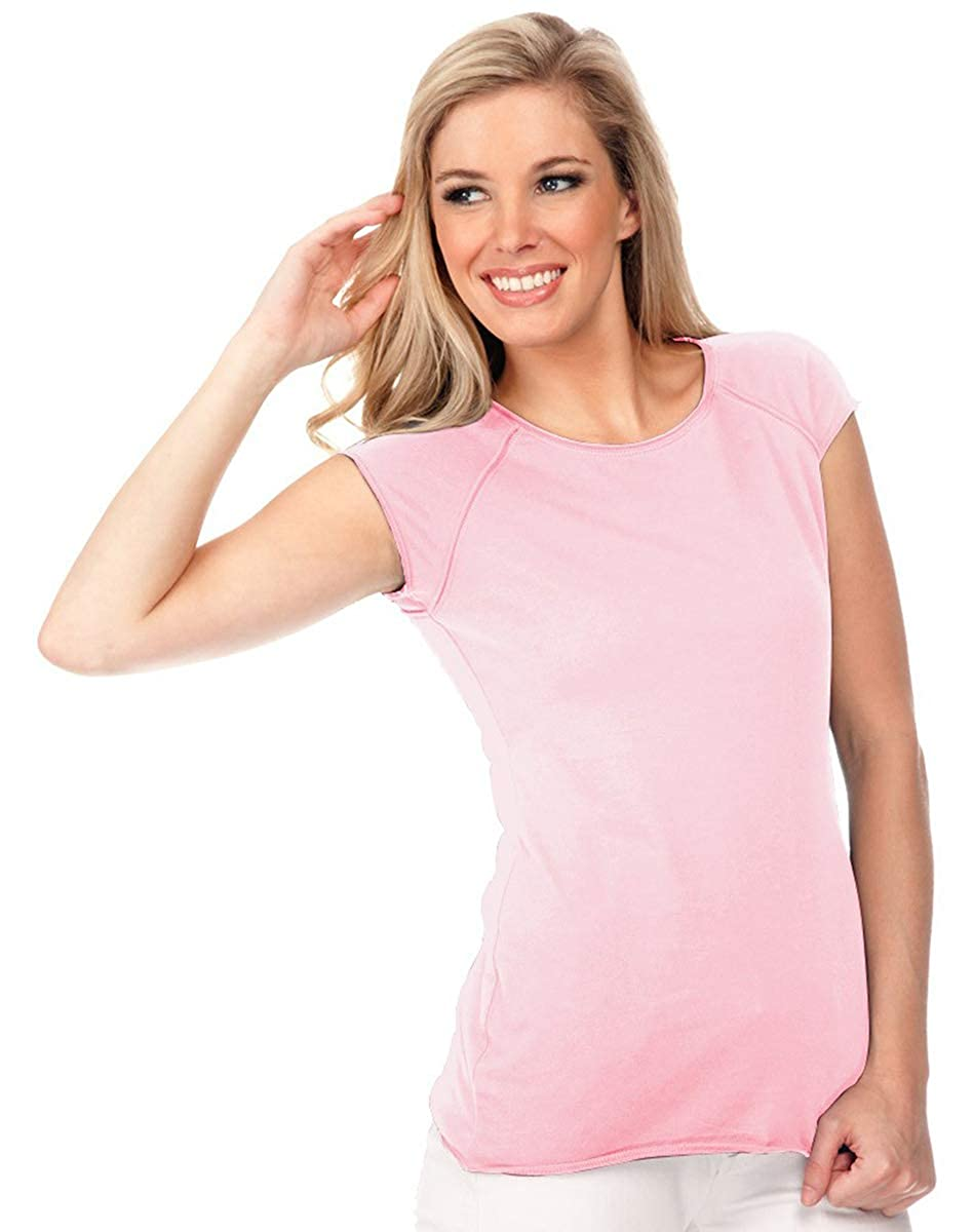 90f6e4a5 Return Policy: This item not eligible for return/exchange. Raw edge w/  reverse cover stitches on neck, sleeve opening & bottom hem, Jersey 100%  cotton ring ...