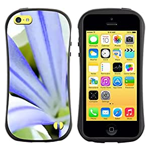 Pulsar iFace Series Tpu silicona Carcasa Funda Case para Apple iPhone 5C , Plant Nature Forrest Flower 79
