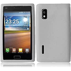 Compatible with LG Optimus Extreme 40g Silicone Skin Cover - Clear