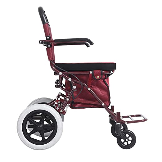 Drive Medical Rolling Walker Plegable, Junior Rollator Walker con ...