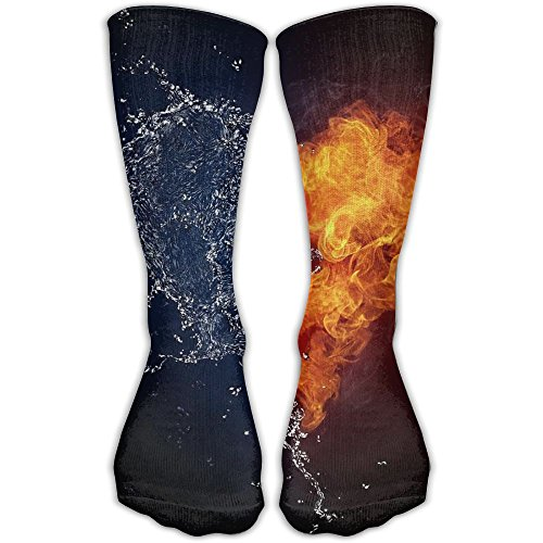 Love Of Fire And Water Flex Stockings Daily Wear Crew Socks