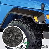 tj pocket fender flares - Topline Autopart Sandblast Black Pocket Rivet Bolt Style Fender Flares Wheel Cover Kit 6PC 6