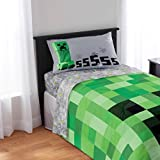 Minecraft Kids Twin Bedding Sheet Set