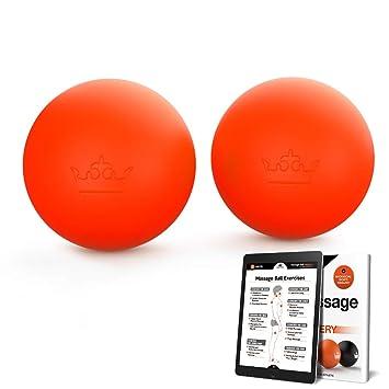 Amazon.com: Pelotas de lacrosse, pelota de yoga para terapia ...