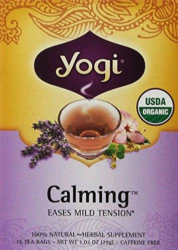 Yogi Tea, Calming, 16 Bags (Calming Tea)