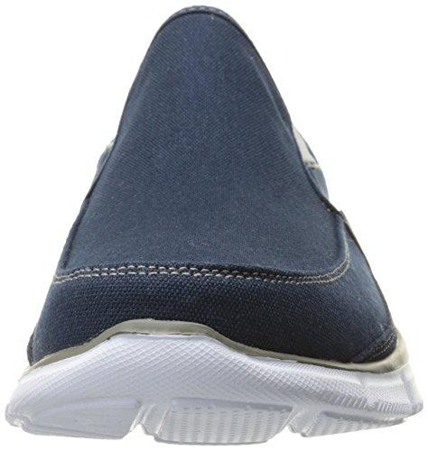 Skechers Sport Hombres Ecualizador Mind Game Slip-on Loafer Azul Marino / Gris