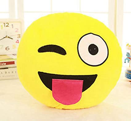 lovely emoji smiley emoticon pillows smiley face pillow cushion soft stuffed plush cute cartoon toy doll - Christmas Smiley Faces