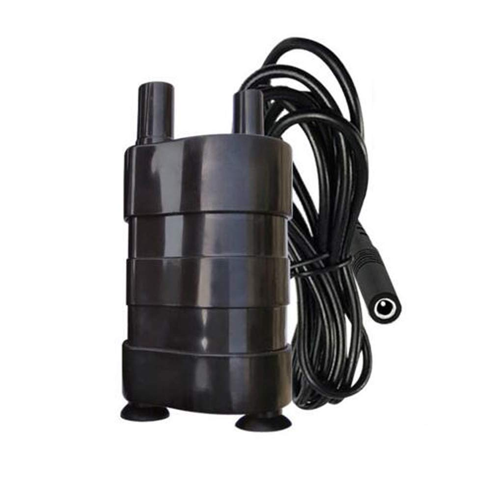 DC 12V Micro Submersible Pump Electric Pumping Diesel Pump Bottom Suction Pump by Q-BAIHE