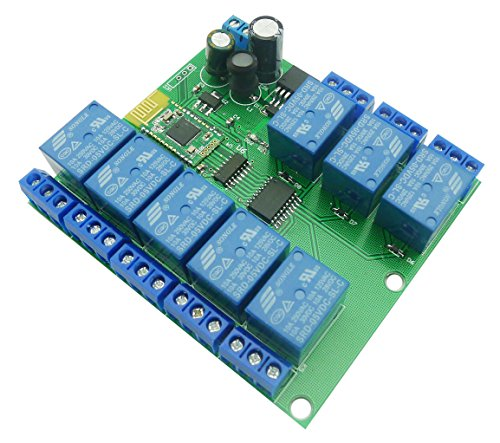 Aihasd Bluetooth Relay Module 8 Channel 4.0 BLE for Apple Android Phone IOT