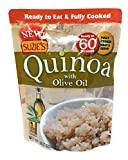 Suzie's Quinoa Ready-To-Eat & Fully Cooked Olive Oil, 9 Ounce Pouch (Pack of 6)