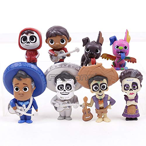 Hector Mama Abuelita Action Movie Coco Figurines Miguel Ernesto de la -