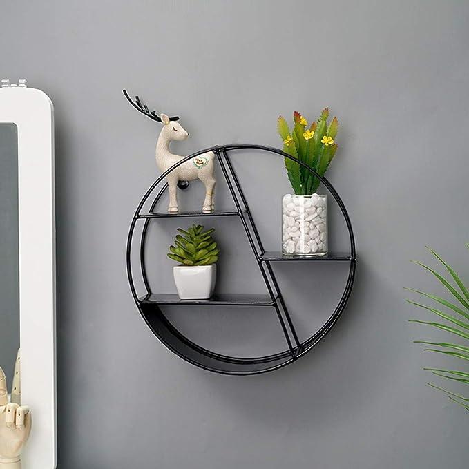 Runde wand lagerregal dekorative display regal halter wohnkultur