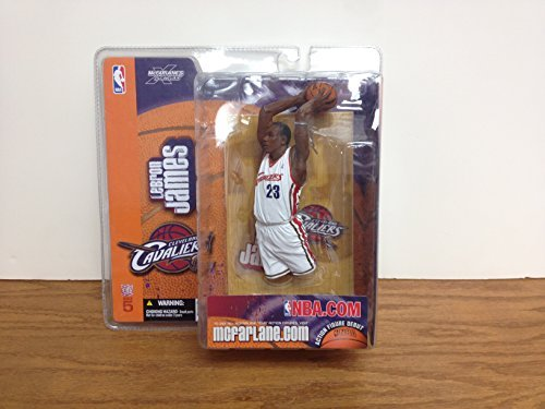 LEBRON JAMES Cavaliers Series 5 McFARLANE Action Figure Debut At ...