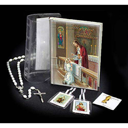 Catholic & Religious Gifts, First Communion Wallet Gift Set BOY English