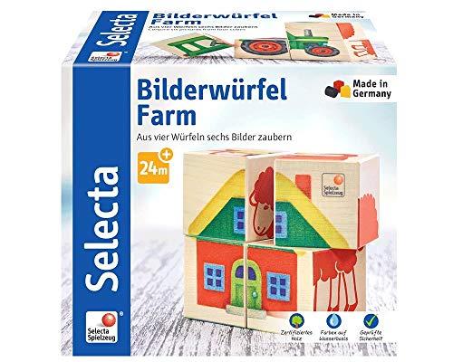 (Selecta 62052Picture Cubes Farm)