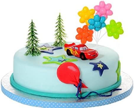 Partydeko Stefino Decoración para Tartas Cars 4 ...