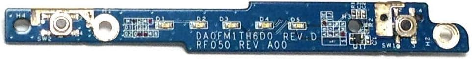 Dell Inspiron E1505 6400 Power Button Board DA0FM1TH6D0