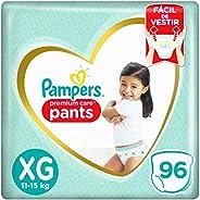 Fralda Pampers Pants Premium Care XG - 96 fraldas