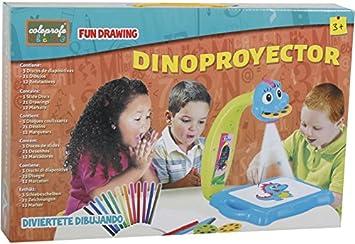 COLEPROFE Manualidades Dino Proyector Artista Dibujo: Amazon ...