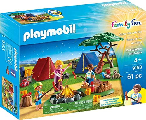 PLAYMOBIL® Camp Site with Fire (Camping Playmobil)