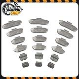 5-30g HASKYY Schlaggewichte Auswuchtgewichte Wuchtgewichte Sortiment für Stahlfelgen 150 Stück (je 25 von 5g, 10g, 15g, 20g, 25g und 30g)