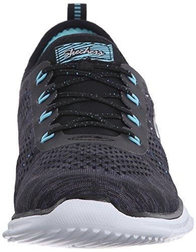 Skechers Glider - Deep Space - Zapatillas de deporte para mujer Black/Aqua