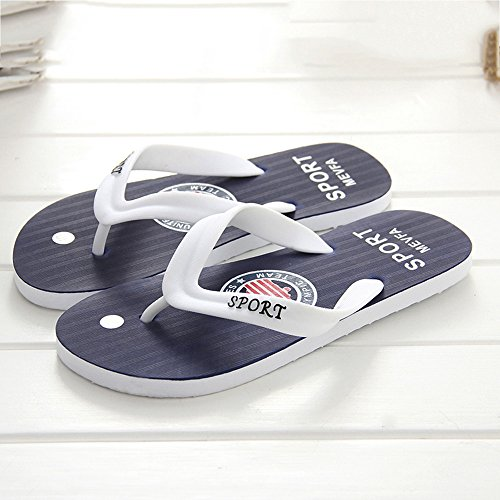 Flip Flops Outdoor Zapatillas Shoes Azul ALIKEEY amp; Leisure Hombre Verano Sandalias Playa Indoor De wBFW6aqWH