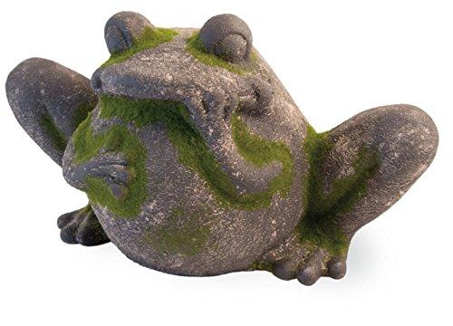 - Boston International HYT18056 Celebrate The Home Decorative Moss Statue, Frog