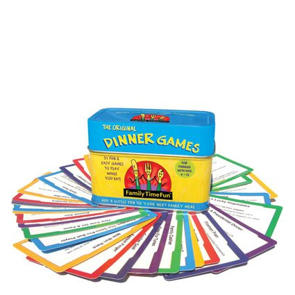 (Family Time Fun Dinner Games and)