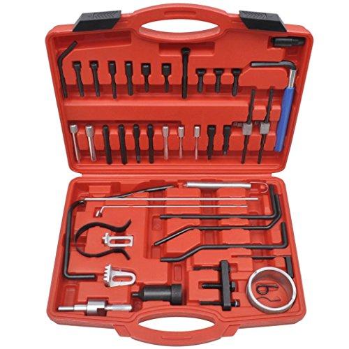 vidaXL Set de Herramientas para Cambiar Correa de Distribución Citroen Peugeot: Amazon.es: Bricolaje y herramientas