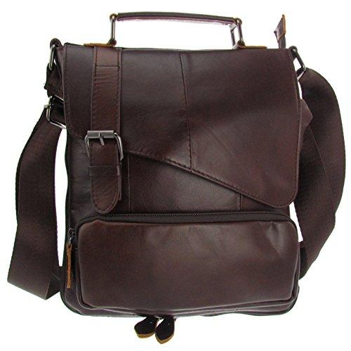 Echt Leder Schulter Tasche Unisex Leder Bag