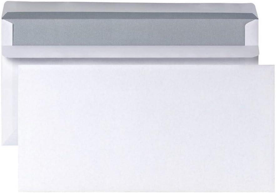 Fenster Briefumschläge 125x235 mm kompakt 75 g//m² selbstklebend m