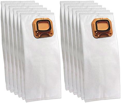 DLS 12 Bolsas (Microfibra) para aspiradora Vorwerk Folletto Kobold ...